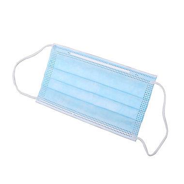 Masque chirurgical plat jetable, lot de 10