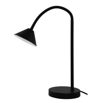Lampe à poser LED intégrée 6W IP20 noir