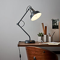 Lampe à poser Yarra E27 IP20 noir