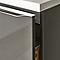 Meuble sous vasque à suspendre GoodHome Imandra gris taupé 60 cm + plan vasque Nira