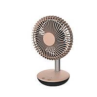 Mini ventilateur de table FT15-18AR2 rose ø15 cm, 3.8W