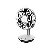 Mini ventilateur de table FT15-18AR2 blanc ø15 cm, 3.8W