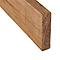 Lame de clôture Lemhi marron 120 x 9 cm