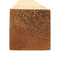Poteau U21 Lemhi marron 9 x 9 x L.240 cm