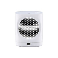 Chauffage d'appoint soufflant oscillant GoodHome Colenso noir 2000W