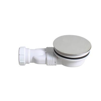 Bonde de douche extra-plate 90mm Flomasta