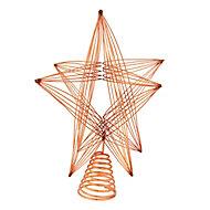 Pointe en étoile cuivre