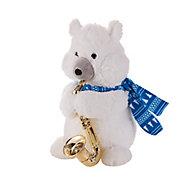 Peluch animée ours saxophone