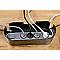 Organisateur de câbles noir L. 325 x l. 125 mm