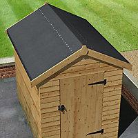 Feutre bitumé performance Roof pro noir 10 x 1 m