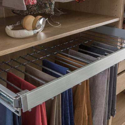 Porte pantalon acier form darwin 100 cm castorama for Porte 93 cm castorama