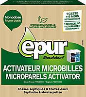 """Entretien microbilles """"fosse septique"""" 6 mois"""