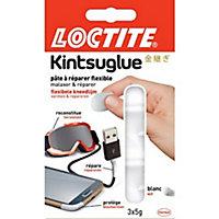 Pâte à réparer flexible Loctite Kintsuglue blanc 3x5 g