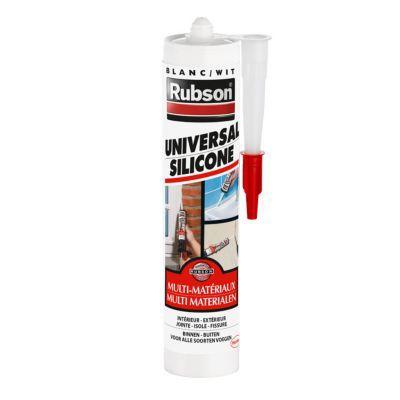 Mastic rubson multi applications blanc 280ml castorama for Application castorama