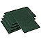 5 Tampons abrasifs vert Pro 22,5x14cm