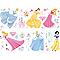 Sticker mural Princesses