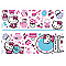 Sticker scintillants Hello Kitty