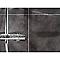 Lambris pvc DUMAPLAST béton gris foncé (vendu à la botte)
