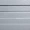 Clin pour bardage PVC Casanova gris granit L.2,4 m
