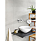Dalle pvc DUMAWALL+ ciment clair 65 x 37,5 cm (vendue à la pièce)