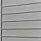 Clin pour bardage PVC gris L.2,40 m