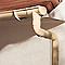 Profil de gouttière sable 16 cm L.4 m