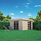 Abri de jardin bois Blooma Lindo XL 14,34m²