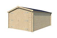 Garage bois 17,26m²