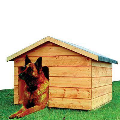 Niche pour chien bois 90 x 100 cm