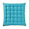 Galette de chaise Ethnic bleu 40 x 40 cm