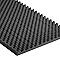 4 dalles NOMA Acoustic noir - 50 x 50 cm ép.5 mm