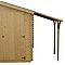 Bûcher pour abri de jardin bois VERHAEGHE 104 x 212 cm