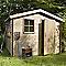 Abri de jardin bois Blooma Namur, 4,7 m² ép.19 mm