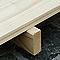 Plancher pour abri de jardin bois Verhaeghe Lulea