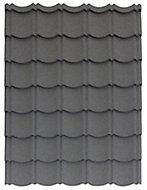 Panneau Easy-Tuile anthracite - 113,5 x 86 cm