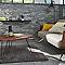 Tapis Berbère uni gris 120 x 170 cm