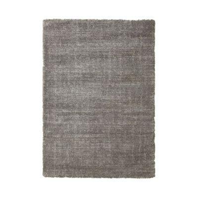 Tapis sensation uni gris 60 x 110 cm