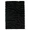 Tapis Fiord noir 120X170cm