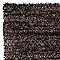 Tapis Sensation uni Noir 60 x 110 cm