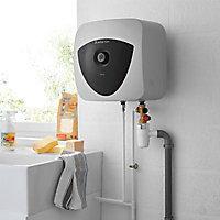 Chauffe-eau électrique Ariston Andris black 15L sur évier