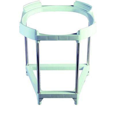 support tr pied pour chauffe eau lectrique ariston 100 200l castorama. Black Bedroom Furniture Sets. Home Design Ideas
