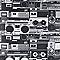 Papier peint papier sur papier Duplex stéréo noir