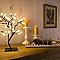 Lampe Cerisier métal/PVC noir H. 45 cm 1,87 W