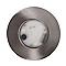 Spot à enc. IDUAL métal chrome brossé Ø 8,5 cm LED 7,5 W