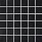 Mosaïque sol et mur noir 33,3 x 33,3 cm Park