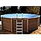 Bâche d'hivernage NATURALIS pour piscine 6,36 x 4,74 m