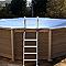 Bâche hivernage pour piscine NATURALIS 4,67 x 3,24 m