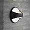 Applique extérieure NORDLUX Twin noire