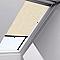 Store rideau fenêtre de toit VELUX RHL 606, 608, S06 et S08 naturel