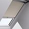 Store occultant télécommandé fenêtre de toit VELUX DSL M04 beige
